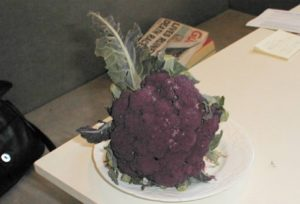 Purple Graffiti Cauliflower