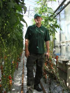 Colin Lovelady at Flavourfresh Tomatoes