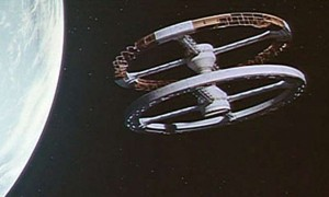 2001 A Space Odyssey Space Station
