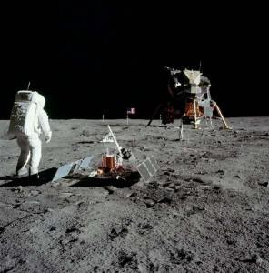 Apollo 11 - The Eagle LEM on the Moon