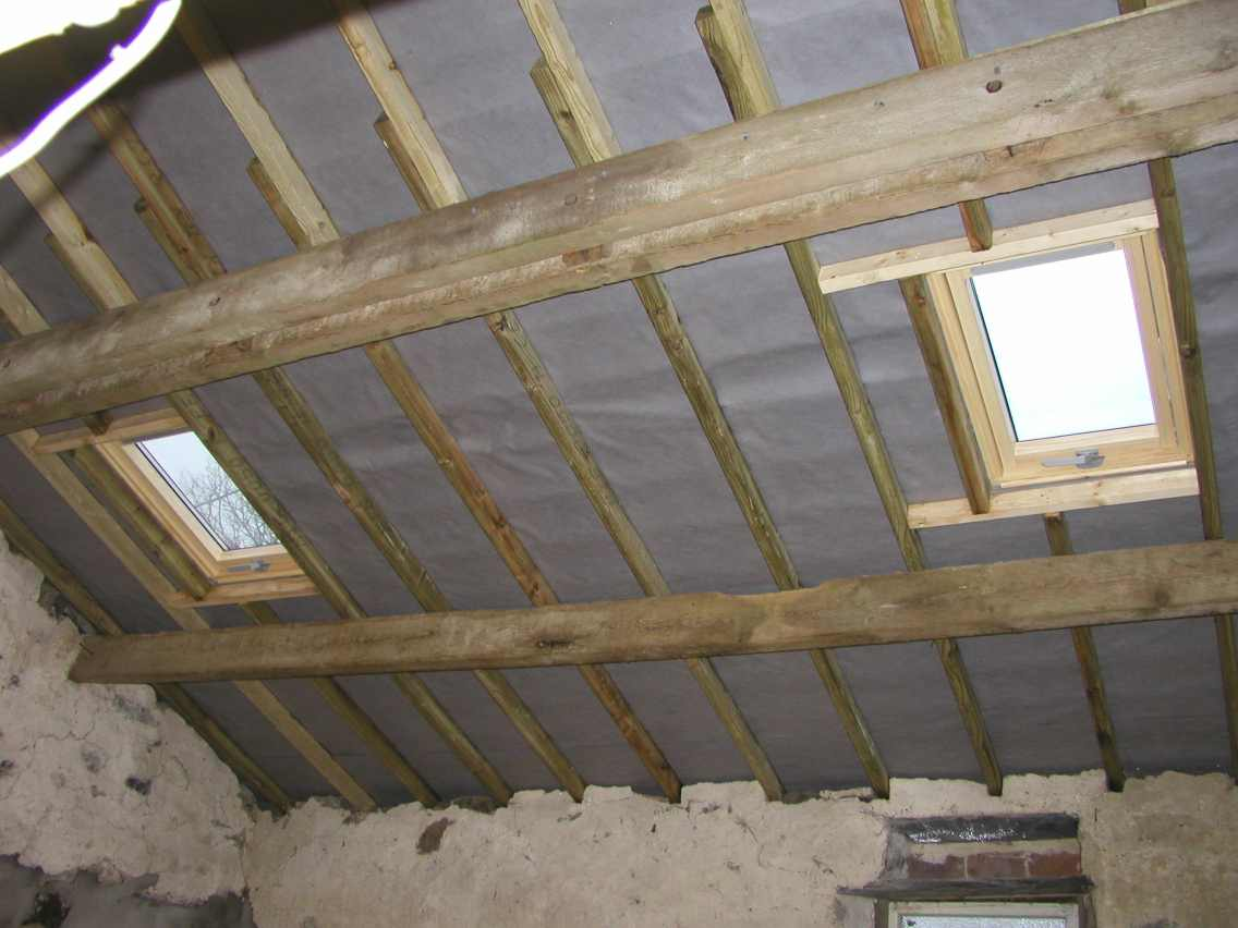 Finished Roof Interior