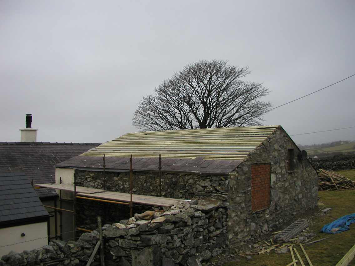 Unfinished Roof