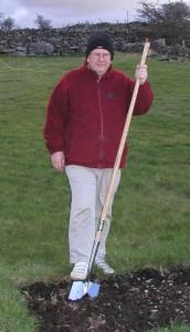 Long Handled Spade