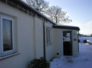 Icicles on Fron Dirion
