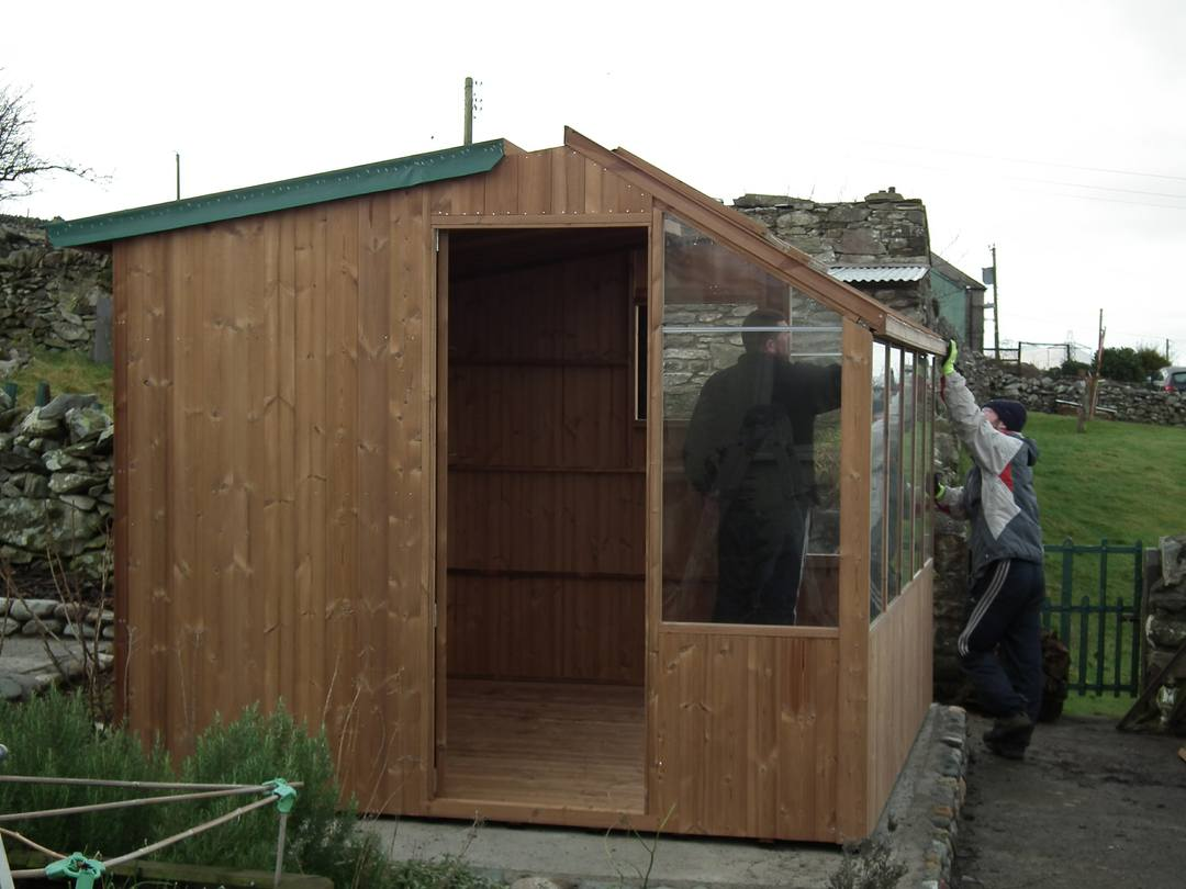 Potting Shed Near Completion