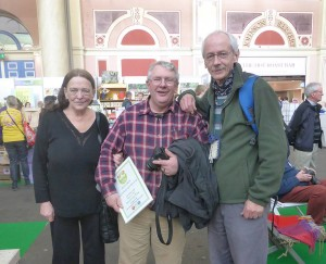 Val & John Harrison with  Richard Cannon