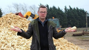 Hugh Fearnley-Whittingstall and Waste Parsnips