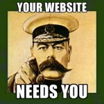 Your Website Needs You