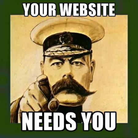 Your Website Needs You