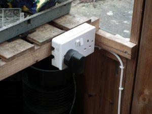 Double Power Socket