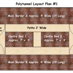 Draft polytunnel layout
