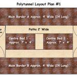 Draft polytunnel layout