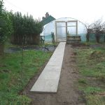 Path Vegetable Garden