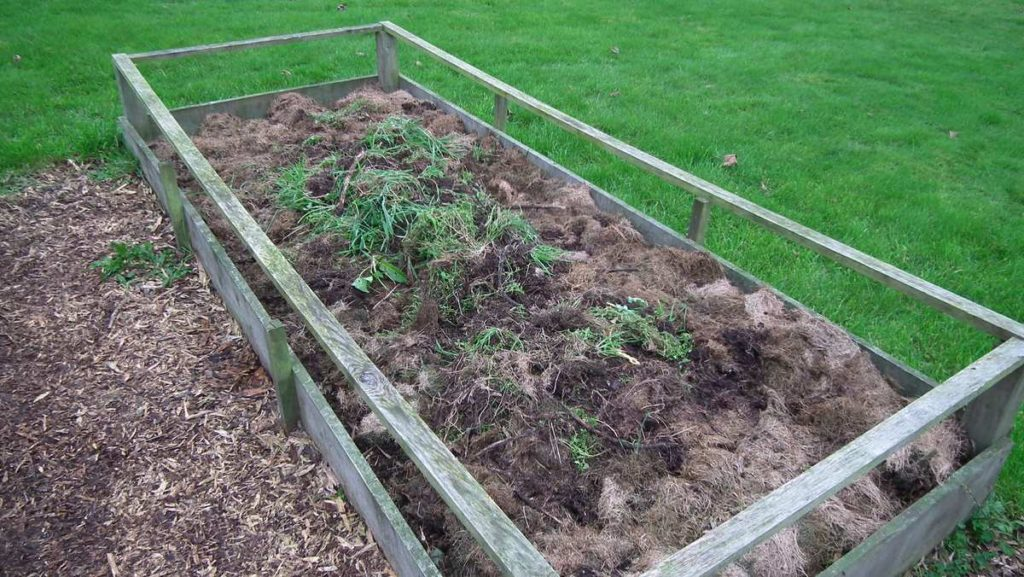 Mulched Raised Bed