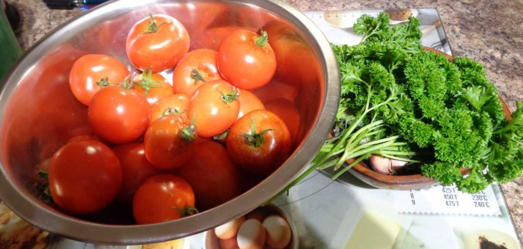 Tomatoes Parsley