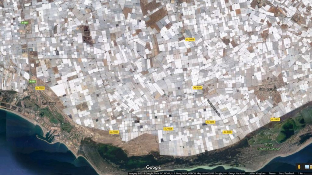 Almeria Google Map