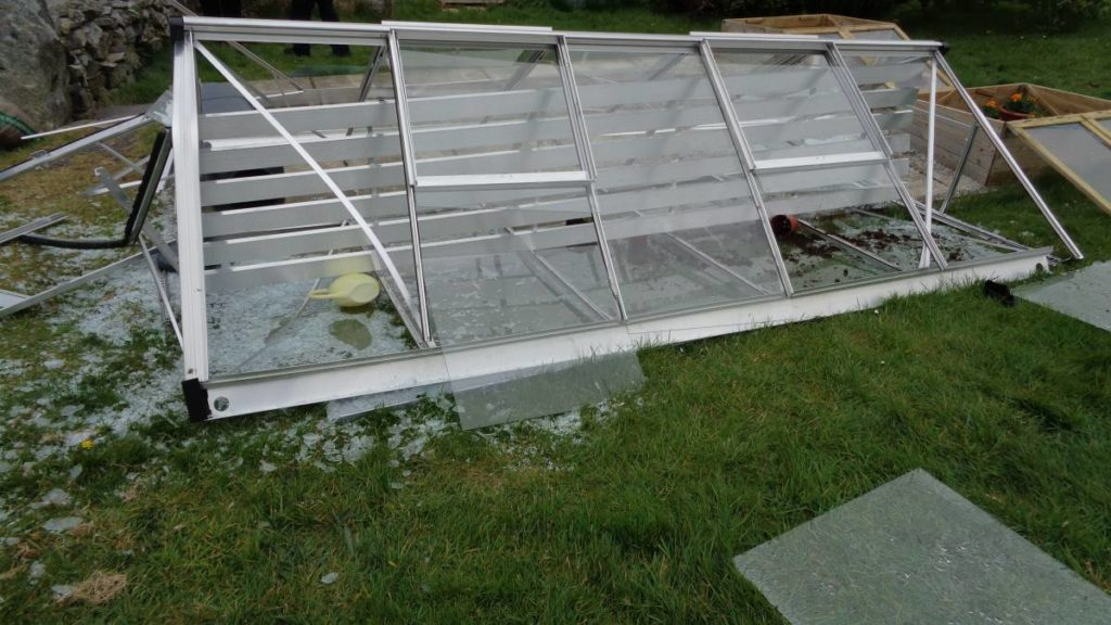 greenhouse storm damage