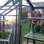 Folding Greenhouse Staging