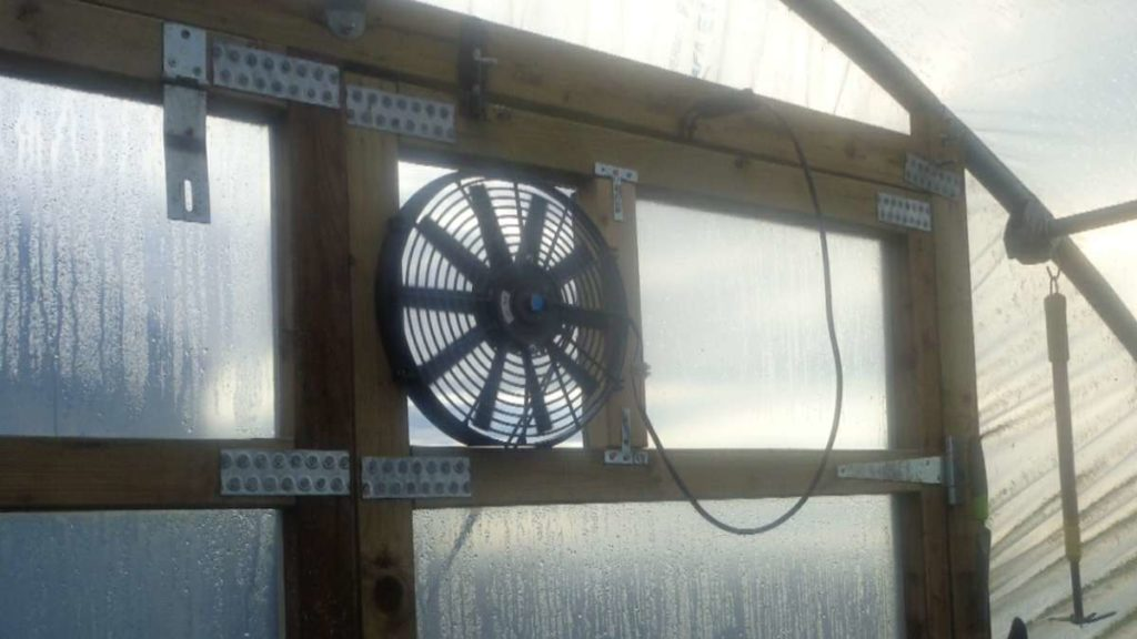 Fitted Polytunnel Cooling Fan