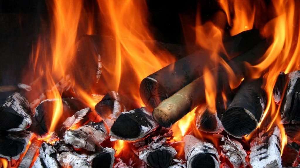 Natural Charcoal Burning