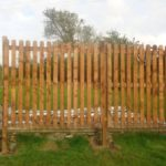 Windbreak Palisade Fence