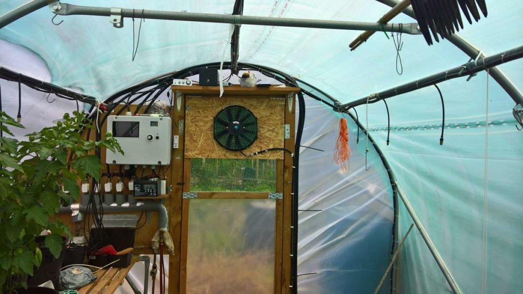 Polytunnel Ventilation Watering Control