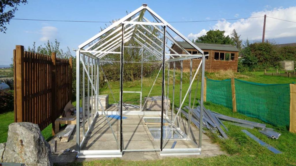 Eden Burford Greenhouse Construction