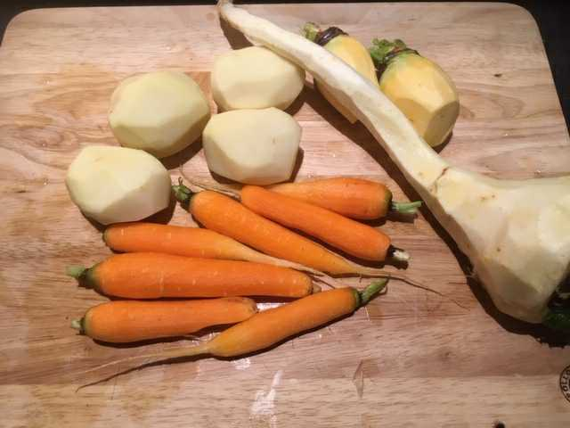 Carrots Potatoes Parsnip Swede