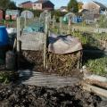 Compost Bins on Plot 29