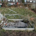 Greenhouse Destroyed by Wind