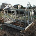 Greenhouse Under Construction Damaged in Storm