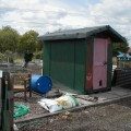 The New Allotment Shed