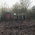 View to Compost and Leafmould Bins