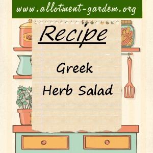 greek herb salad