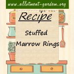 Stuffed Marrow Rings Recipe