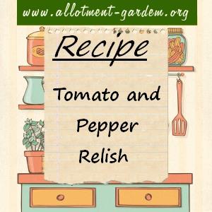 tomato and pepper relish