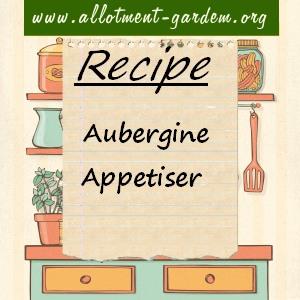 aubergine appetiser