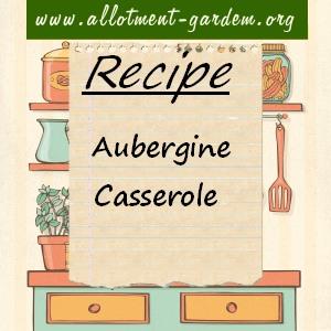 aubergine casserole