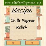 Chilli Pepper Relish Recipe