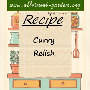 curry relish