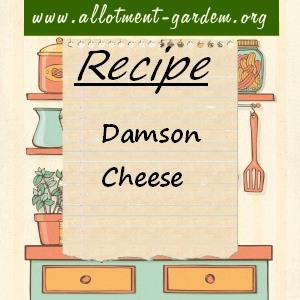 damson cheese