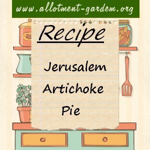 jerusalem artichoke pie