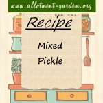 Mixed Pickle Recipe