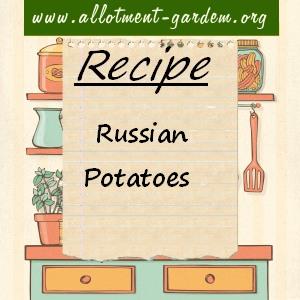 russian potatoes