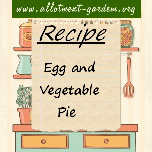 egg and vegetable pie