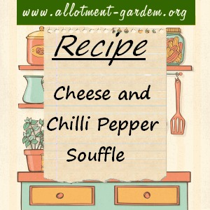 cheese and chilli pepper souffle