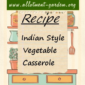 indian style vegetable casserole