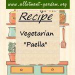 "Vegetarian ""Paella"" Recipe"