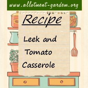 leek and tomato casserole