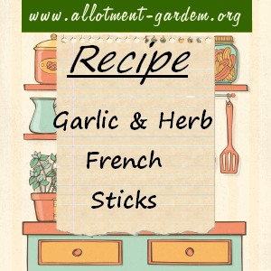 garlic and herb french sticks